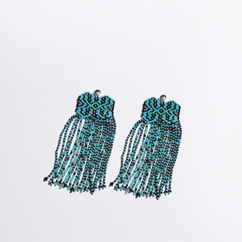 Beaded earrings 1
