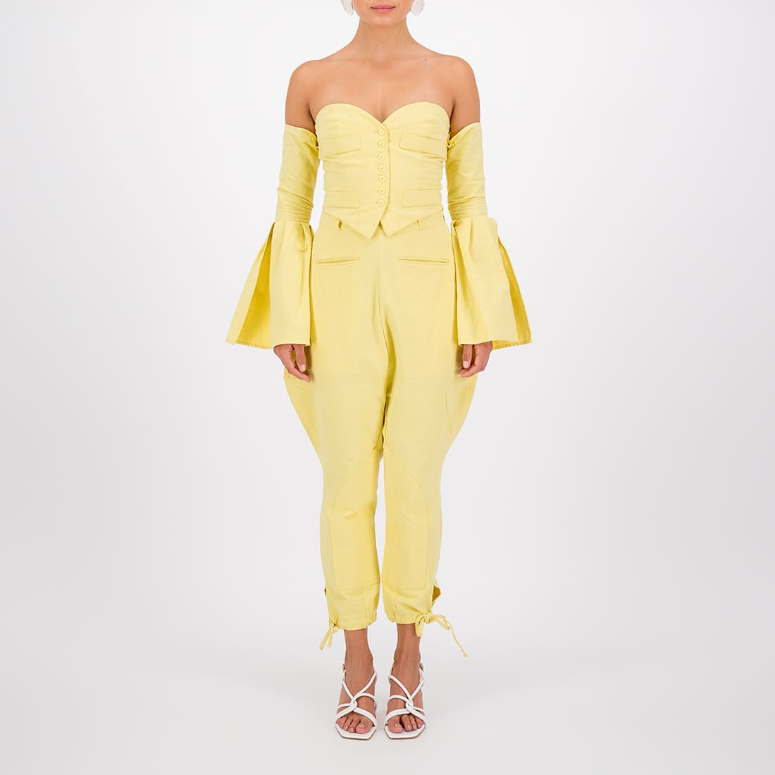Cajetilla Cropped Trousers 2