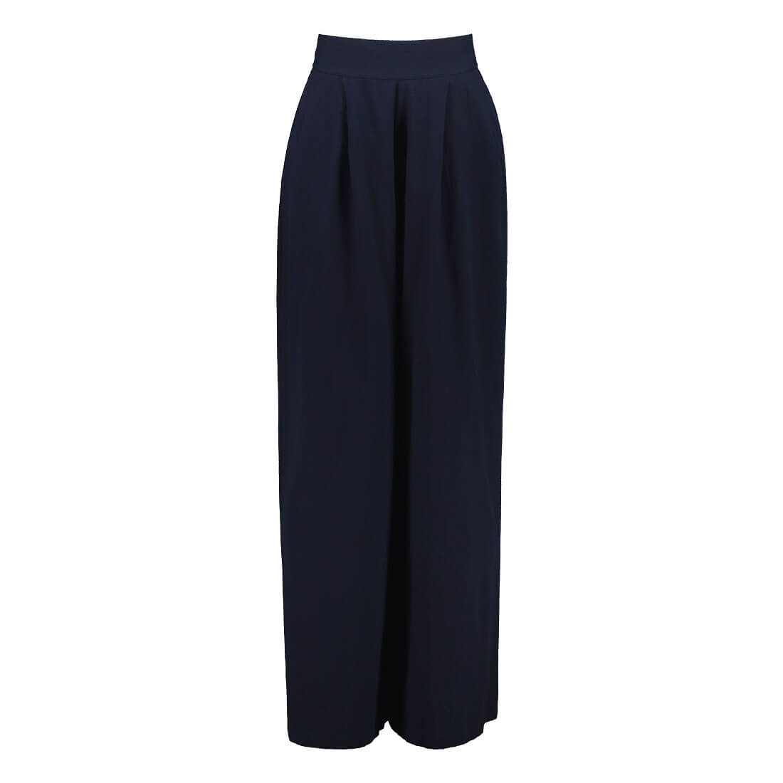 100% organic cotton high-waisted pants 1