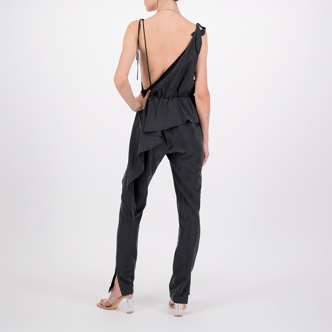 Asymmetrical rayon dress 3