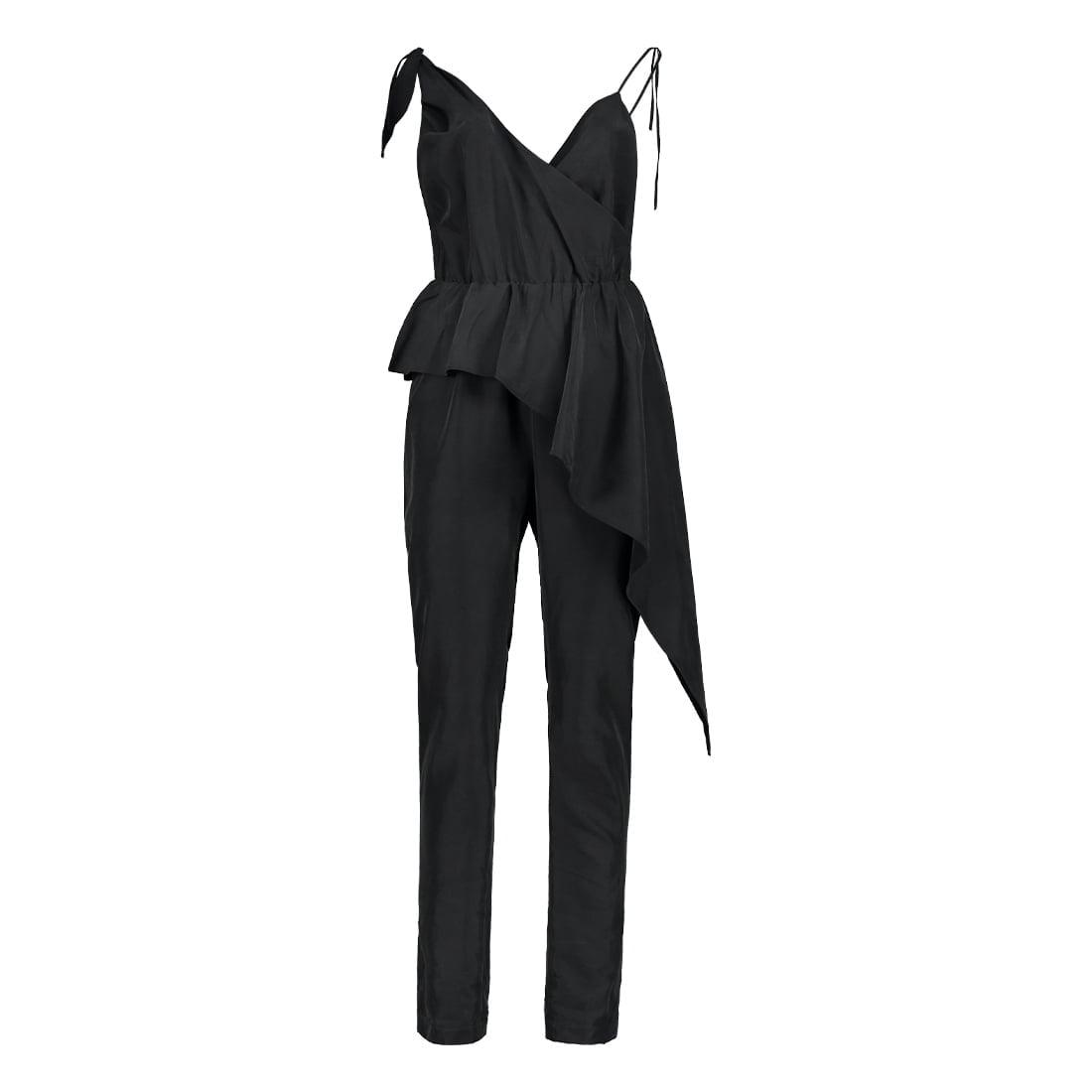 Asymmetrical rayon dress 1