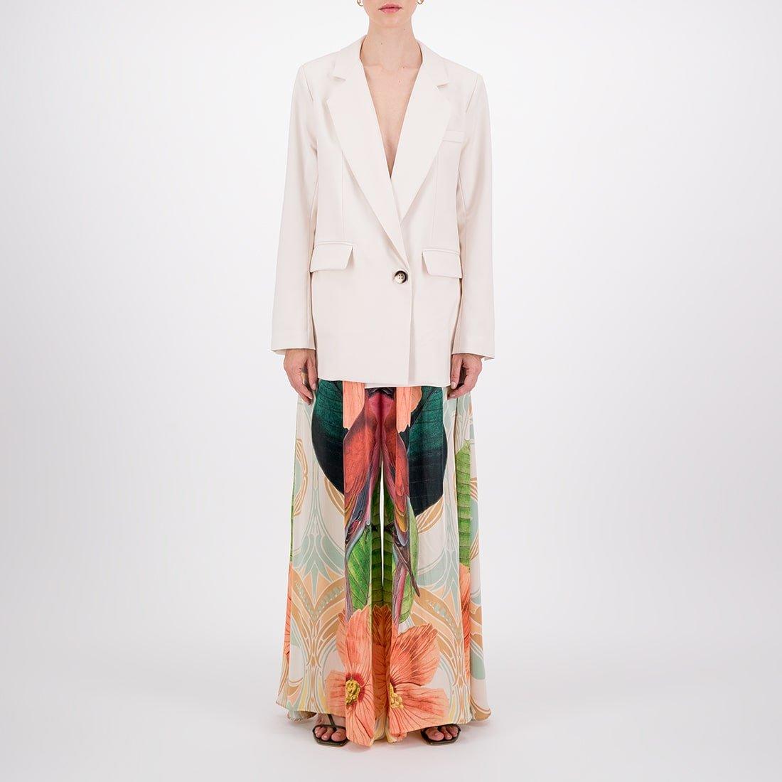 Lightweight wool, oversized blazer 2