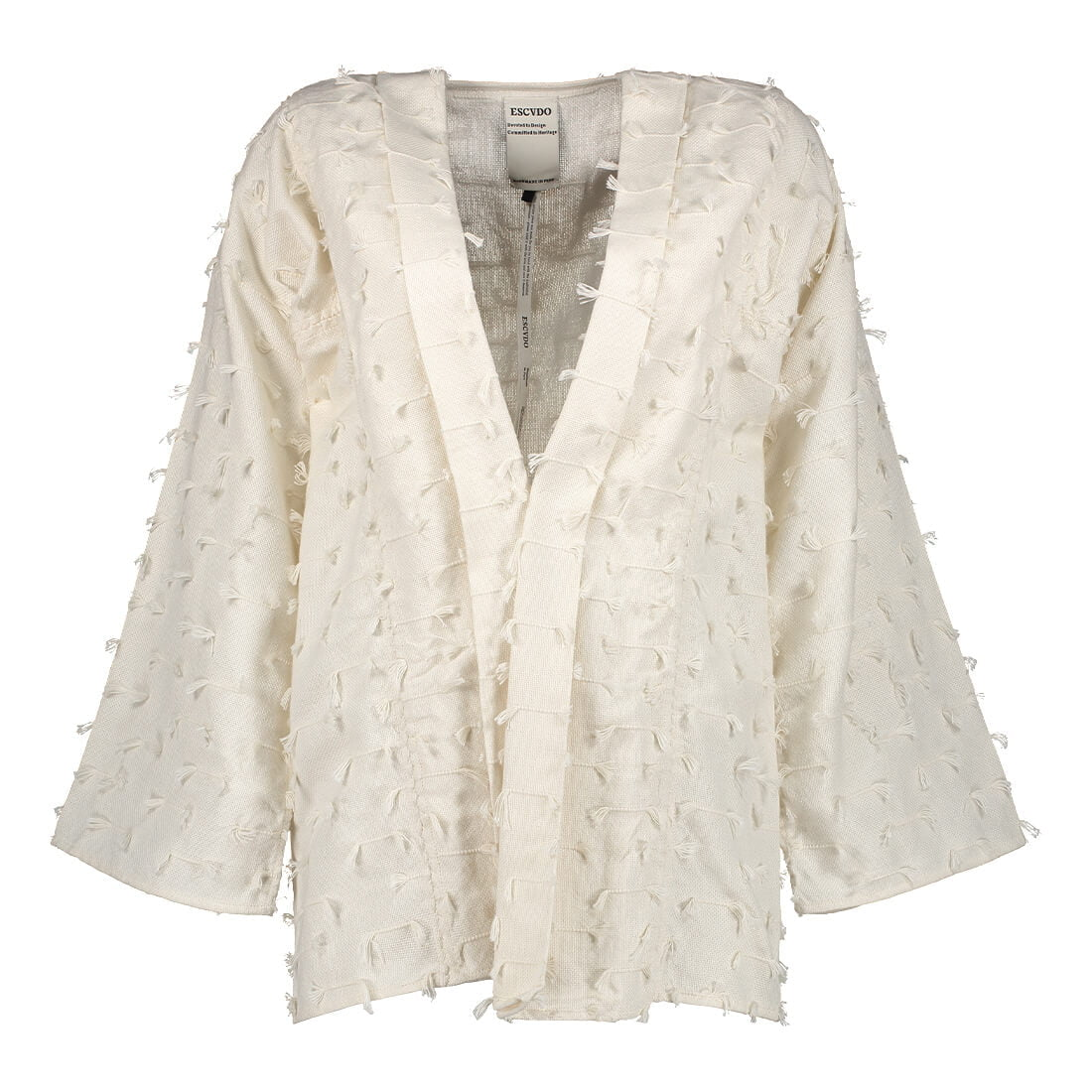 100% pima cotton handwoven oversized cardigan 1