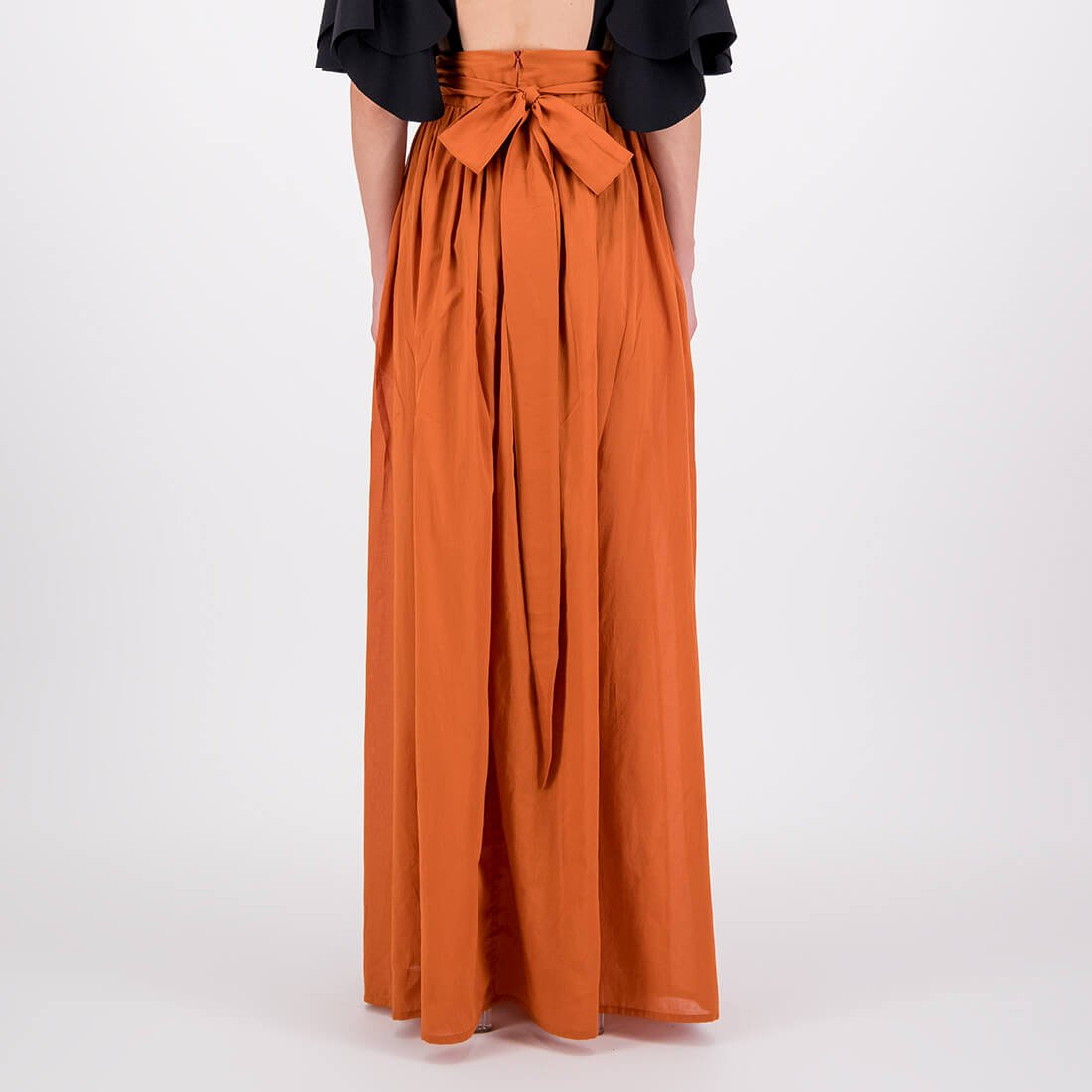 Full-length cotton skirt 3