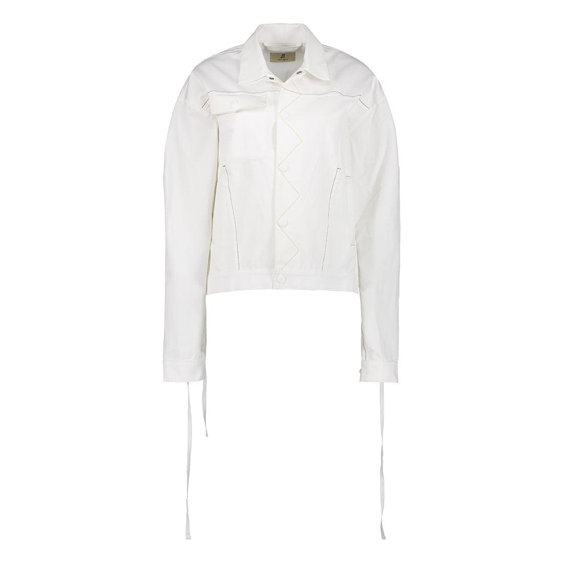 White denim jacket 1