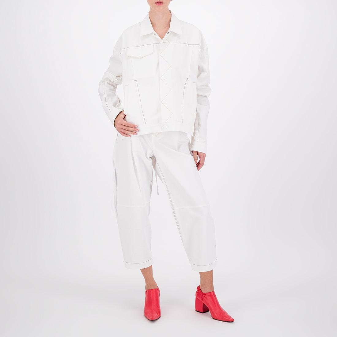 White denim jacket 2