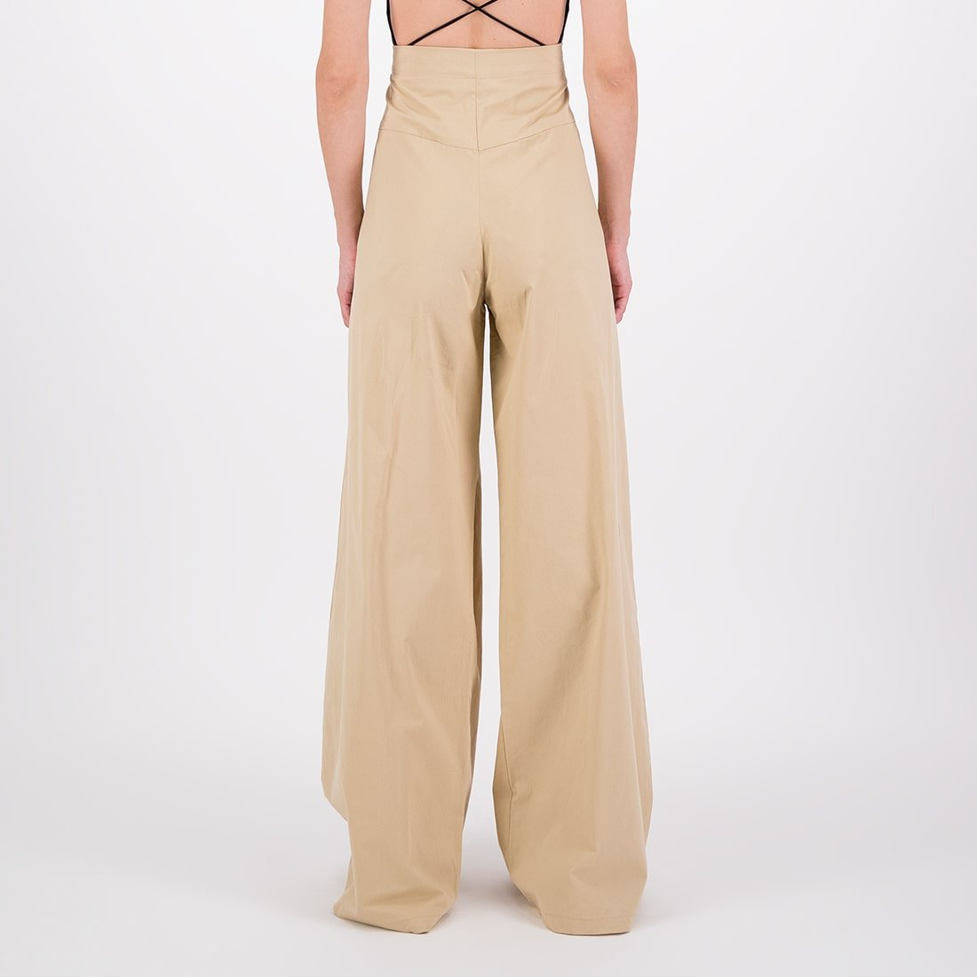 Wide-leg, high-waist dyed pant 3