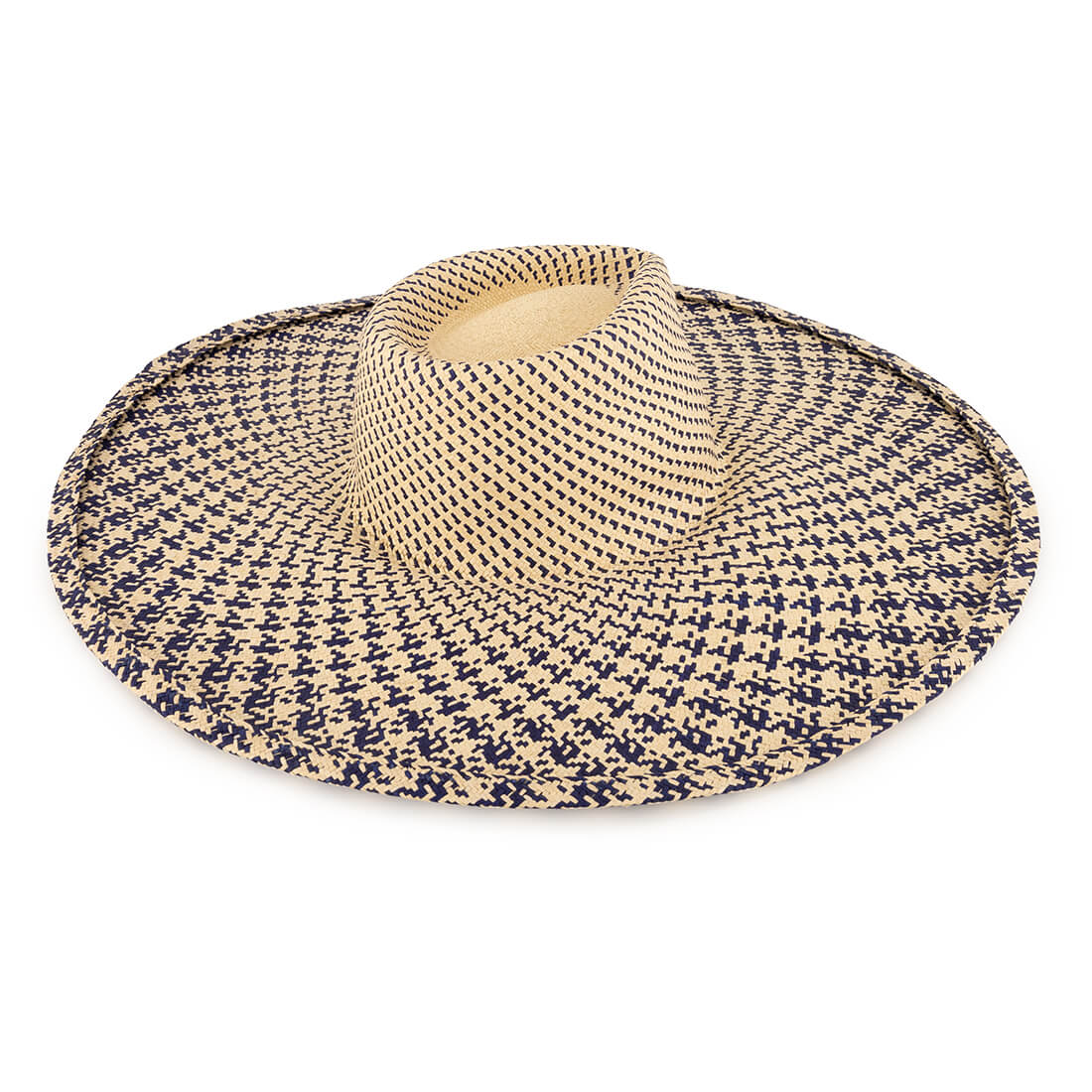 Palm woven hat 1