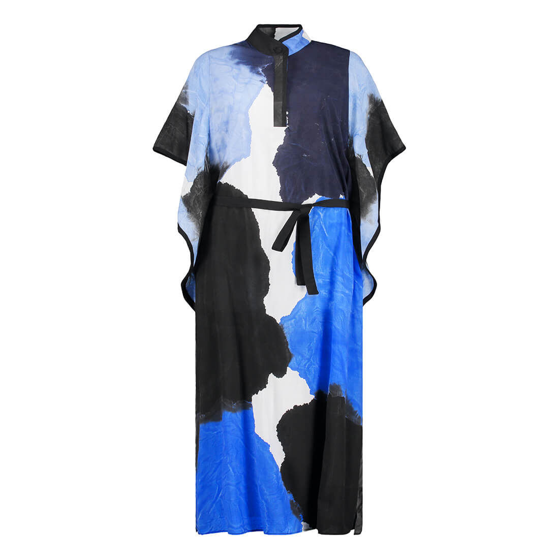 Hand-painted 90% cotton full-length tunic 1