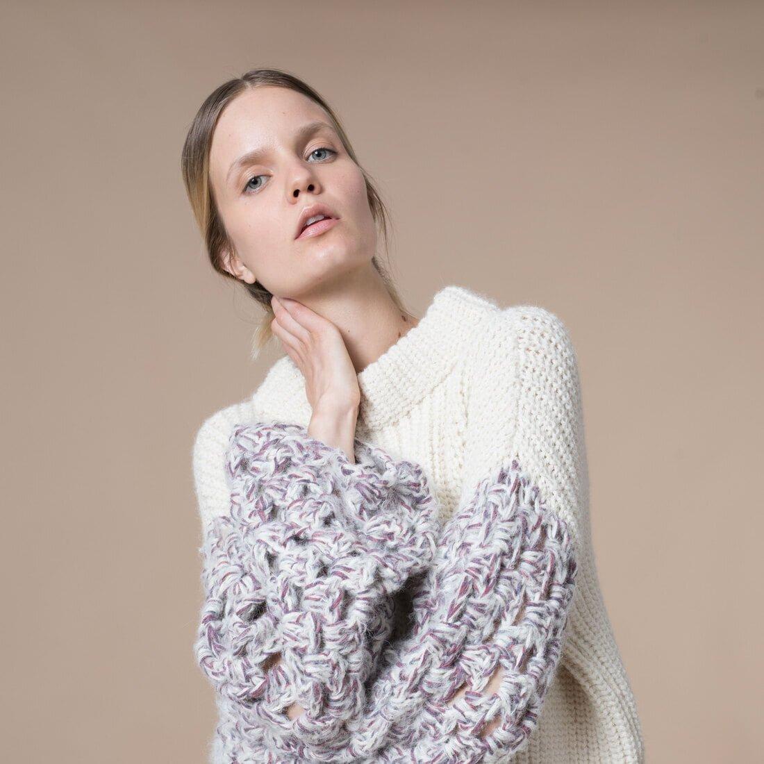 Baby Alpaca Libia Sweater 3